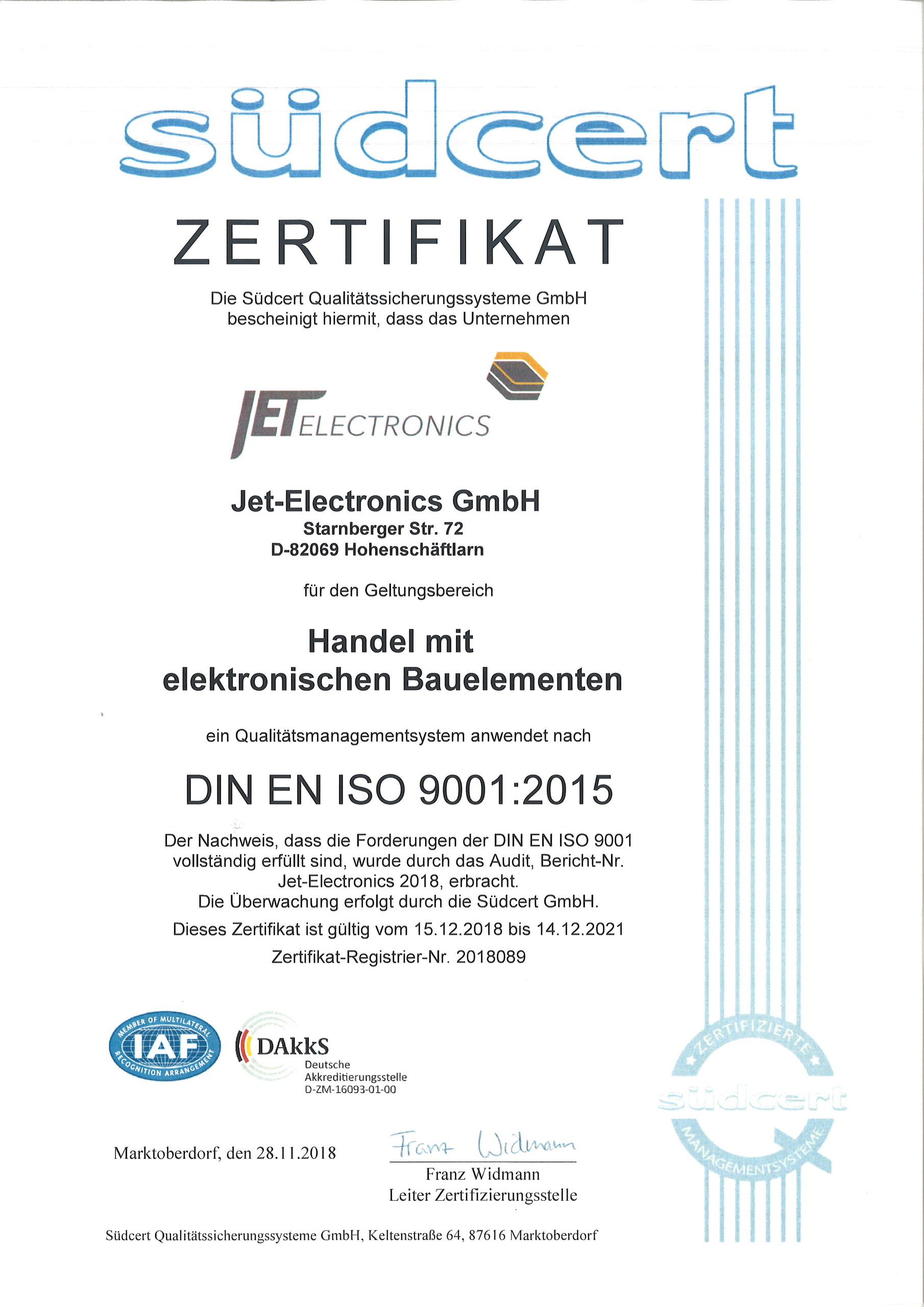 ISO Deutsch